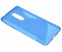 Blauw S-Line TPU hoesje Nokia 5