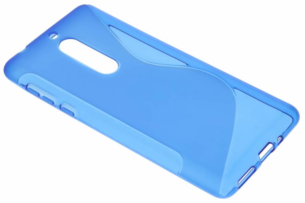 Blauw S-Line TPU hoesje voor de Nokia 5