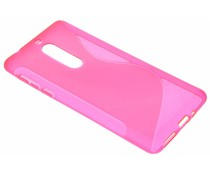 Roze S-Line TPU hoesje Nokia 5