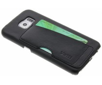 Vetti Craft Zwart Card Slot Snap Cover Samsung Galaxy S6