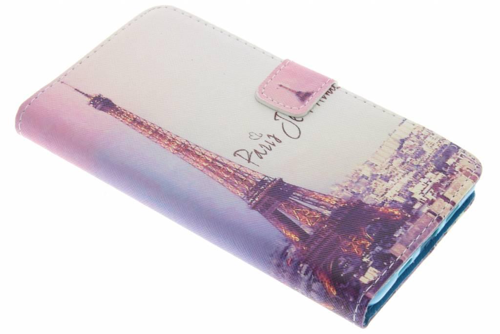 Parijs design TPU booktype hoes voor de Lenovo P2