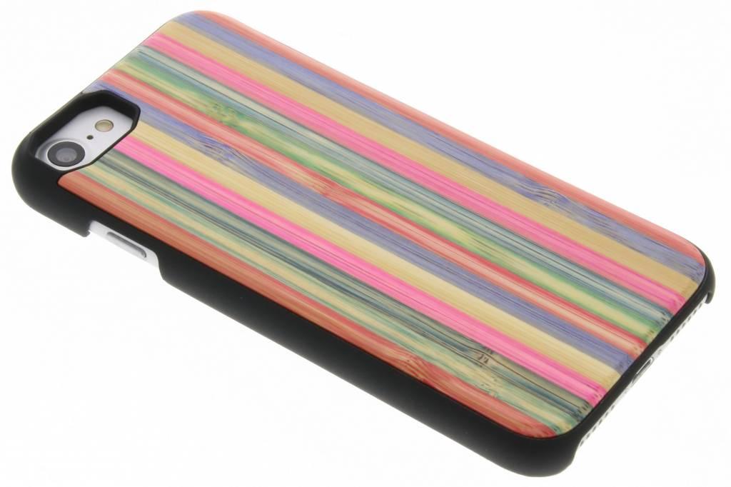 Gestreept houten hardcase hoesje voor de iPhone 7