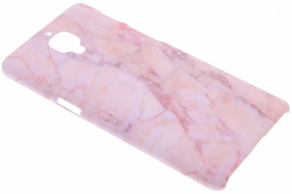 Roze marmer design hardcase hoesje voor de OnePlus 3 / 3T