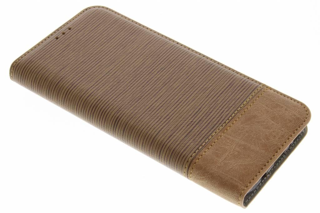 Brun Denim Booktype Tpu Case Pour Samsung Galaxy S8 aYRuU6iAb