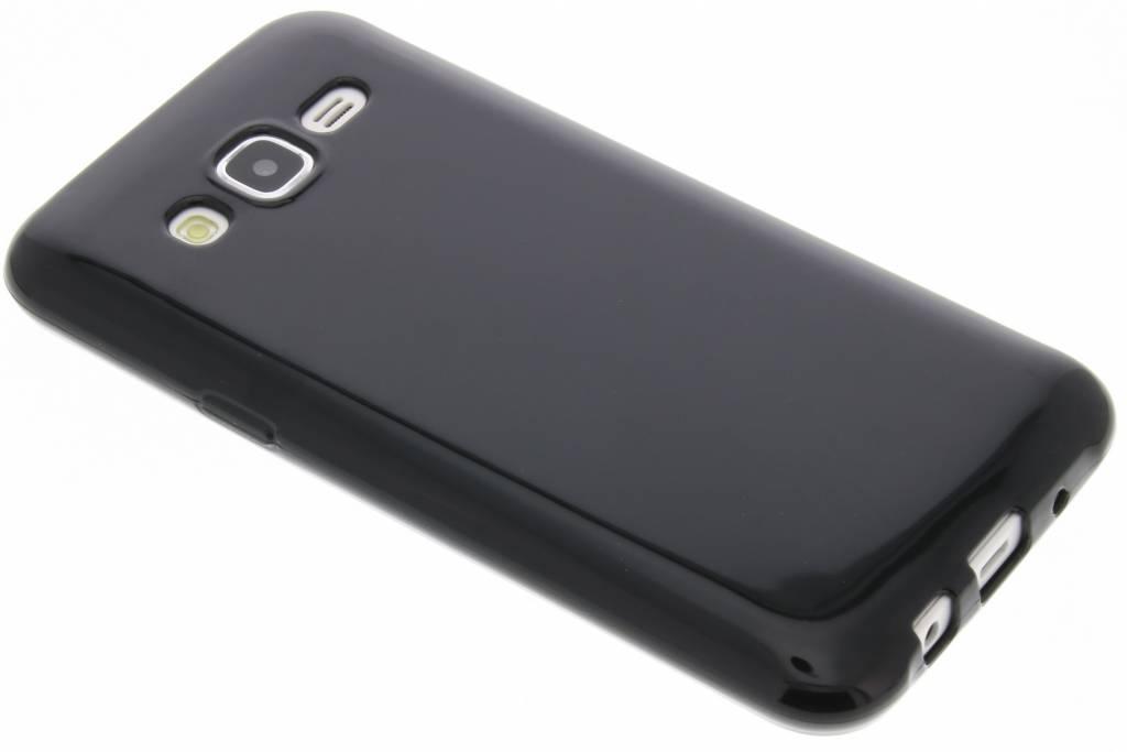 Zwarte gel case voor de Samsung Galaxy J5