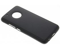 Lederen TPU case Motorola Moto G5 Plus