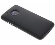 Lederen TPU case Motorola Moto G5