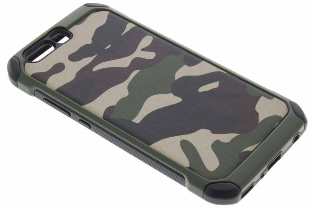 Groene army defender hardcase hoesje voor de Huawei P10 Plus