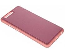 Rood lederen TPU case Huawei P10 Plus