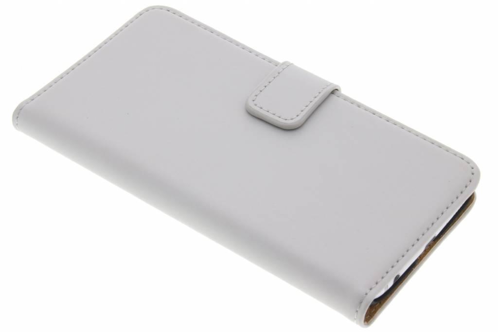 Zilveren luxe Book Case voor de Samsung Galaxy S6