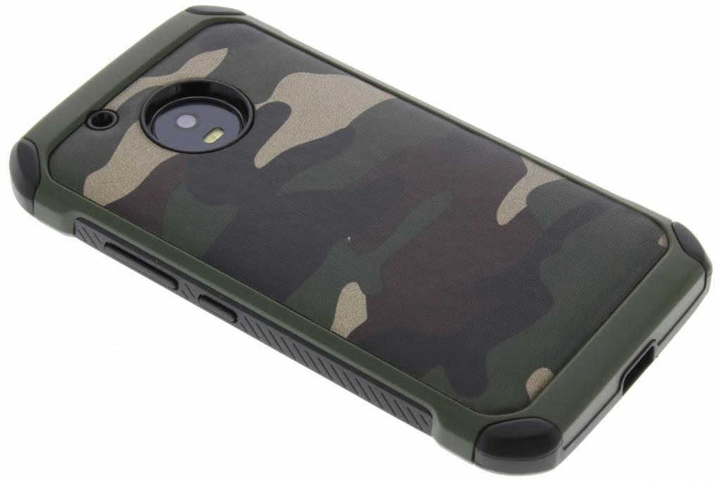 Groene army defender hardcase hoesje voor de Motorola Moto G5