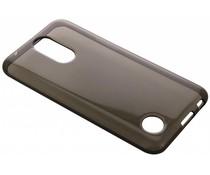 Grijs transparant gel case LG K10 (2017)