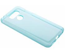 Turquoise transparant gel case LG G6