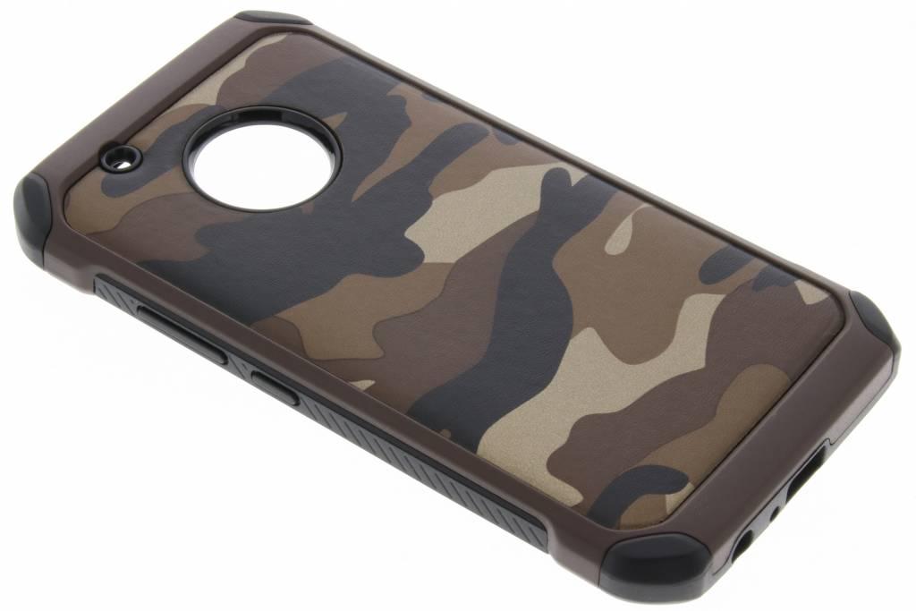 Bruin Army defender hardcase hoesje voor de Motorola Moto G5 Plus