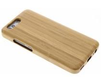 Lichtbruin echt houten hardcase hoesje Huawei P10