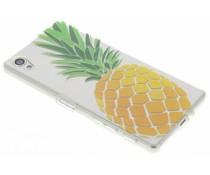 Transparant fruit design TPU hoesje Sony Xperia X