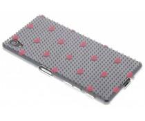 Dots and hearts design TPU hoesje Sony Xperia X