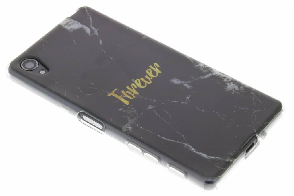 BFF Black Marble Love TPU hoesje voor de Sony Xperia X