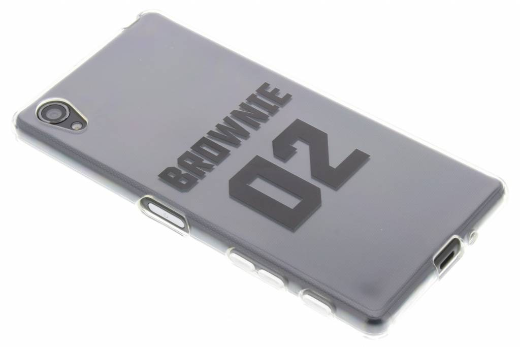 BFF Brownie Love TPU hoesje voor de Sony Xperia X