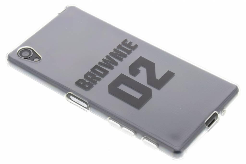 Cas Bff Brownie Amour Tpu Pour Sony Xperia X Dm6oKkusd5