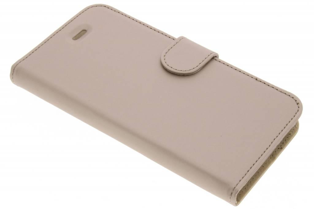 Accezz Gouden Wallet TPU Booklet voor de Asus Zenfone 3 Max ZC520TL