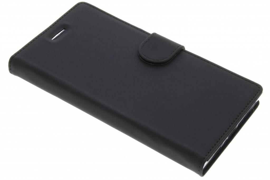 Accezz Zwarte Wallet TPU Booklet voor de Sony Xperia XZ Premium