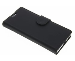 Accezz Zwart Wallet TPU Booklet Sony Xperia XA1