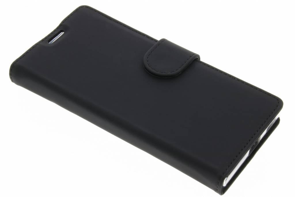 Accezz Zwarte Wallet TPU Booklet voor de Sony Xperia XA1