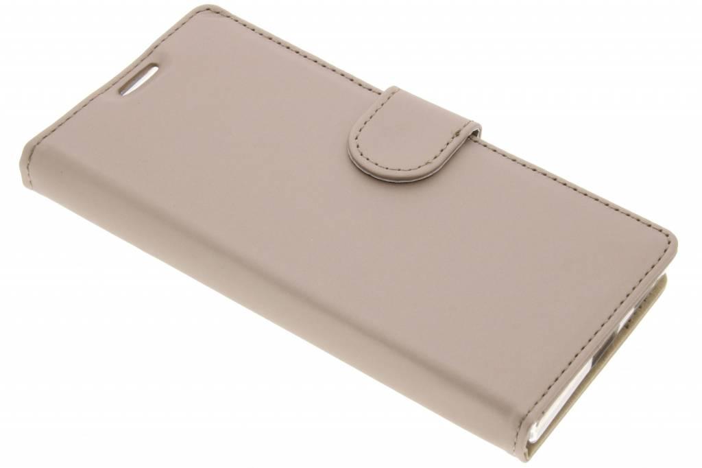 Accezz Gouden Wallet TPU Booklet voor de Sony Xperia XA1