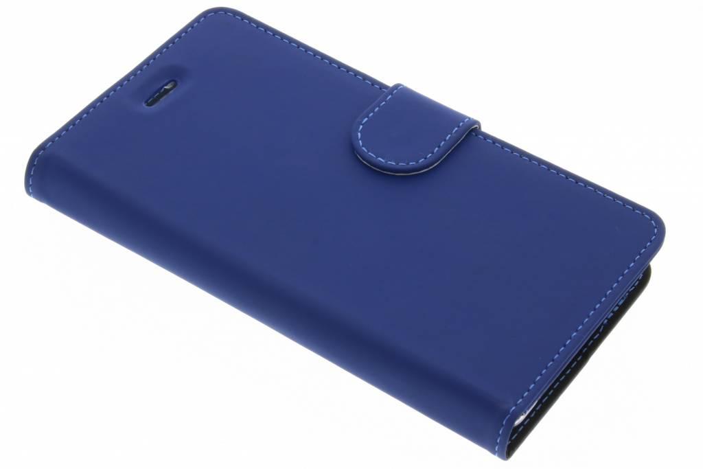 Accezz Blauwe Wallet TPU Booklet voor de Nokia 3