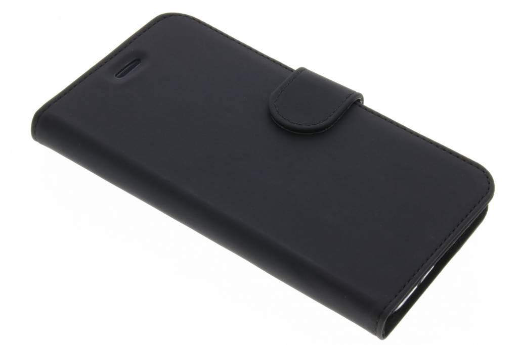 Accezz Zwarte Wallet TPU Booklet voor de Asus Zenfone 3 ZE520KL