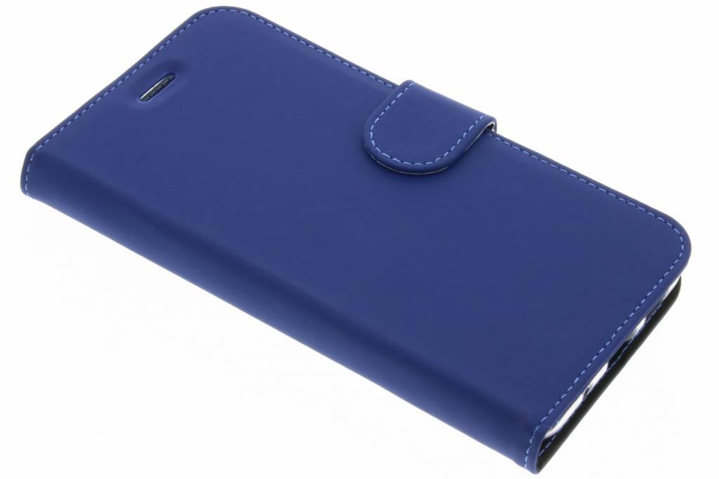 Accezz Blauwe Wallet TPU Booklet voor de Asus Zenfone 3