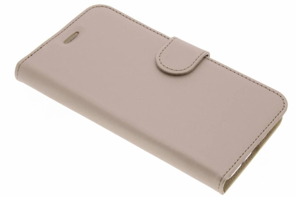 Accezz Gouden Wallet TPU Booklet voor de Asus Zenfone 3