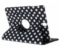 360° draaibare polka dot tablethoes Galaxy Tab S3 9.7