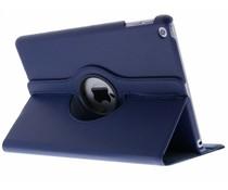 Blauw 360° draaibare tablethoes iPad (2018) / (2017)