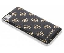 Guess Zwart 4G Resin TPU case iPhone 8 / 7
