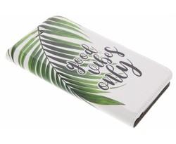 Quote Design TPU Booklet Acer Liquid Z6