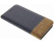 Denim TPU booktype hoes Huawei P10 Lite
