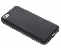 Zwart gel case iPhone 5c