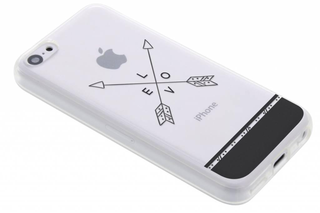 Love arrow transparant festival TPU hoesje voor de iPhone 5c