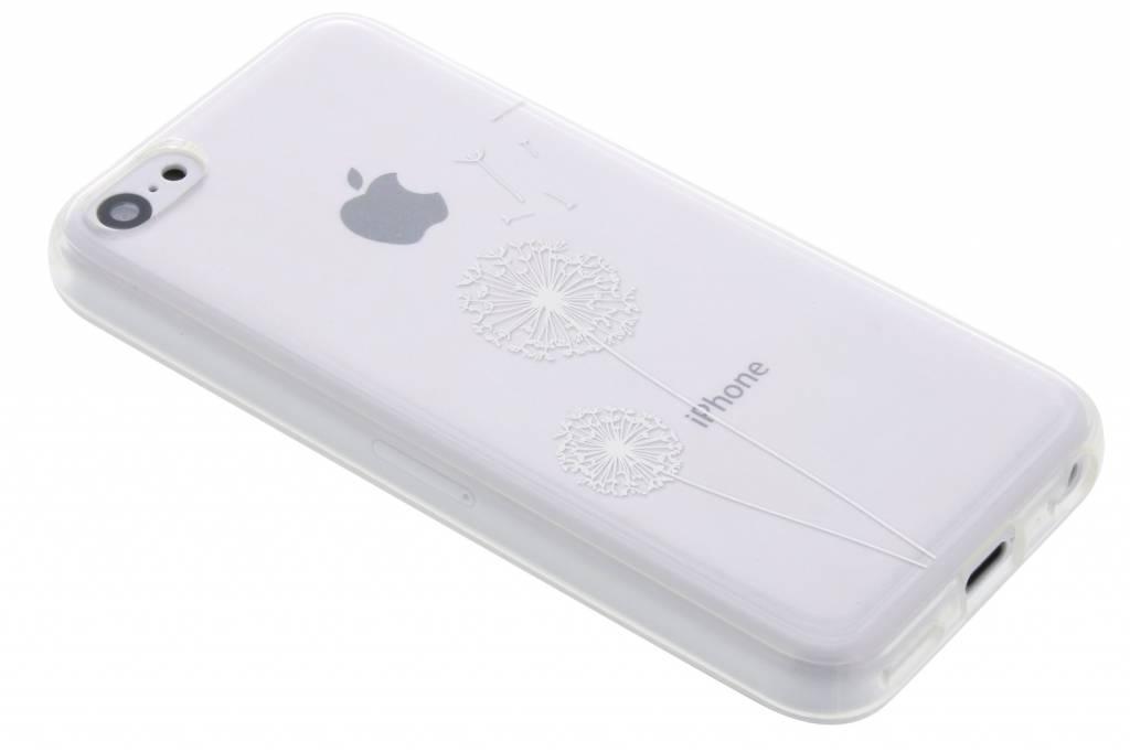 Paardenbloem transparant festival TPU hoesje voor de iPhone 5c