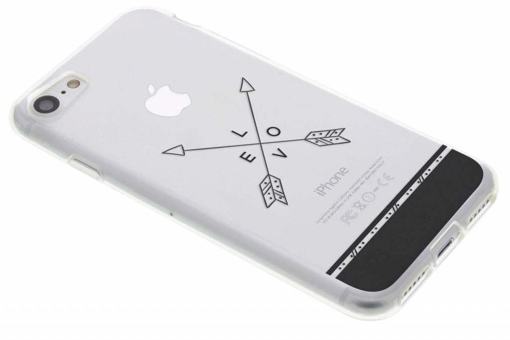 Love arrow transparant festival TPU hoesje voor de iPhone 8 / 7