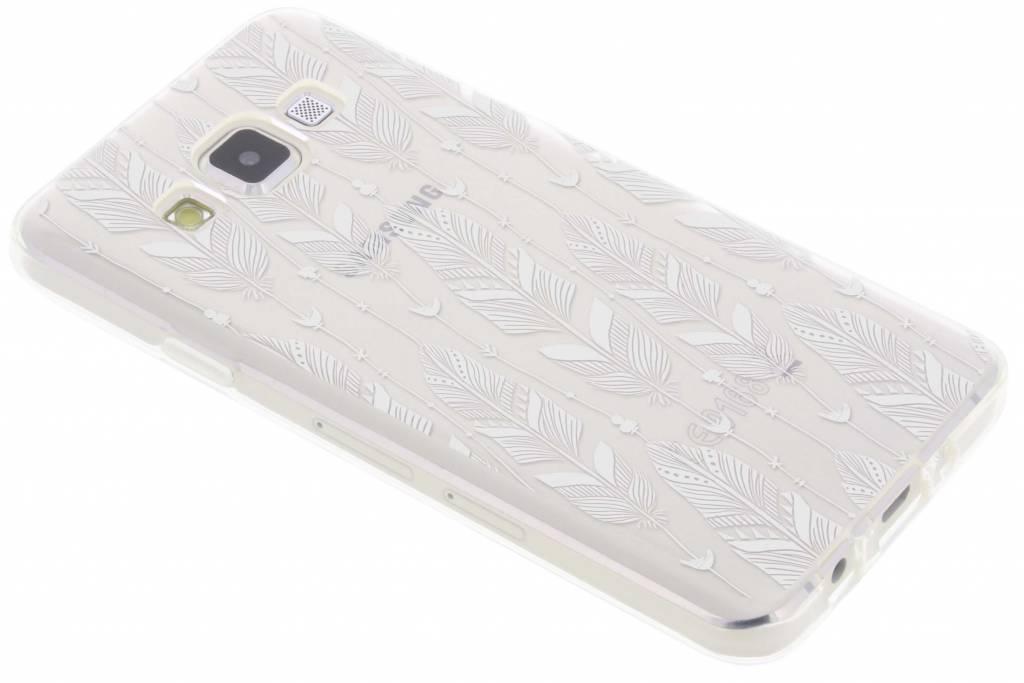 Feathers transparant festival TPU hoesje voor de Samsung Galaxy A3