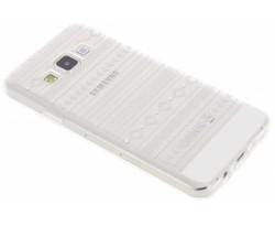 Transparant festival TPU hoesje Samsung Galaxy A3