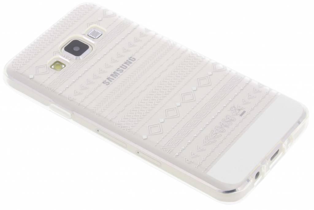 Aztec transparant festival TPU hoesje voor de Samsung Galaxy A3