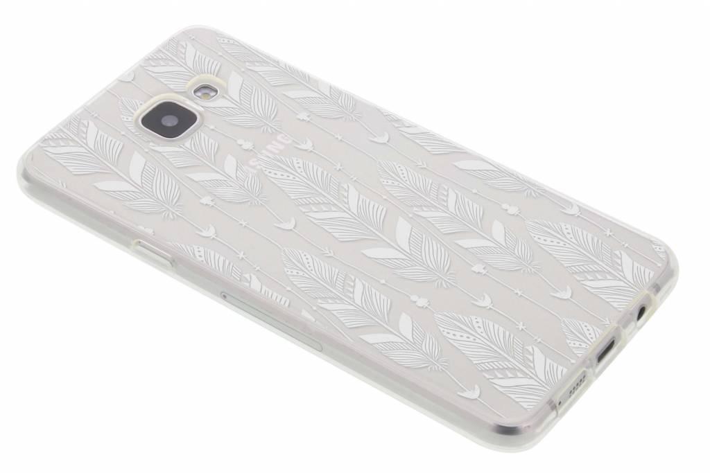 Feathers transparant festival TPU hoesje voor de Samsung Galaxy A5 (2016)