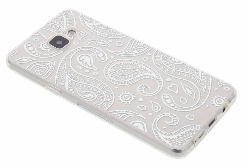 Paisley transparant festival TPU hoesje voor de Samsung Galaxy A5 (2016)