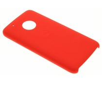 Motorola Rood Silicone Back Cover Moto G5 Plus