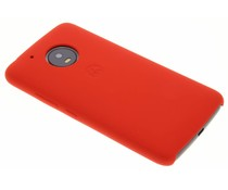 Motorola Rood Silicone Back Cover Moto G5