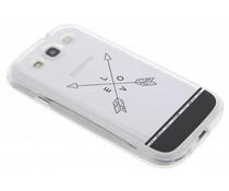 Transparant festival TPU hoesje Galaxy S3 / Neo